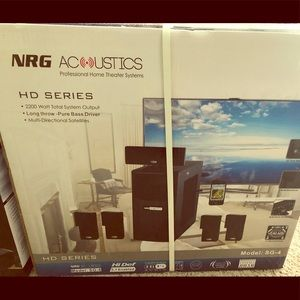 Other - NRG ACOUSTIC SG-4 HOME THEATER SYSTEM